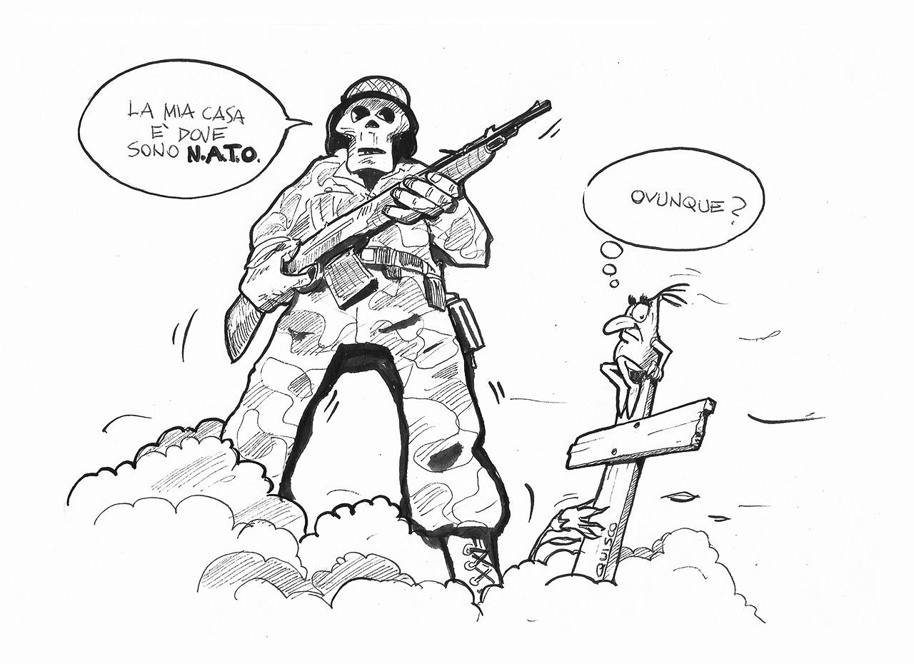 nato servitù militari | QUISCO © 2016