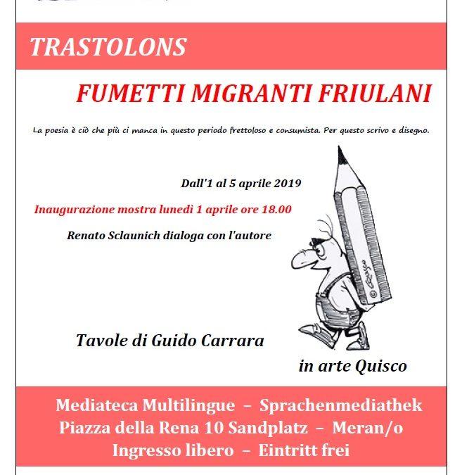 """Ator ator a trastolòn"" – Musica migrante dal Friuli"